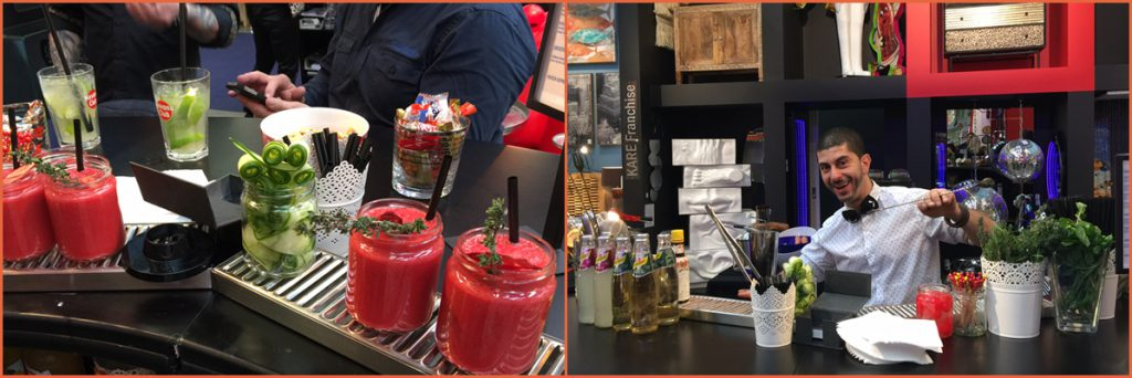 G-COCKTAILS Cocktailservice Messecatering Barkeeperservice Showbarkeeper